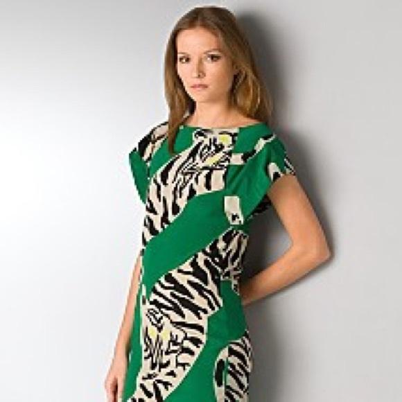 ac558fc84567c4 Diane Von Furstenberg Tops - Diane von furstenberg tiger print silk tunic
